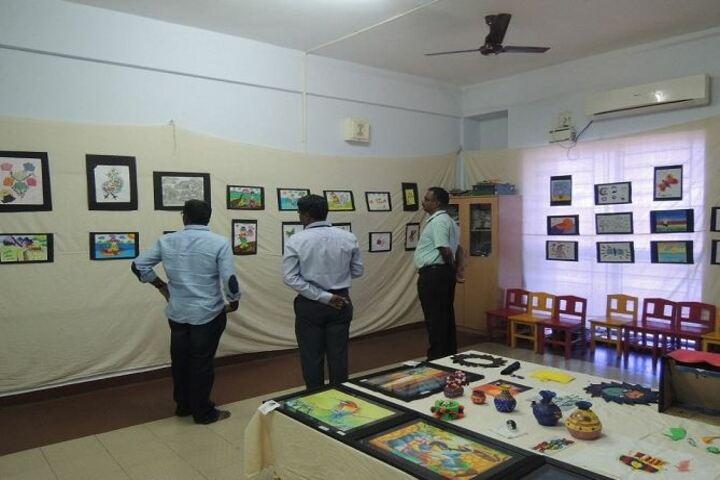 B V M Global Karpagam Campus-Art Exhibition