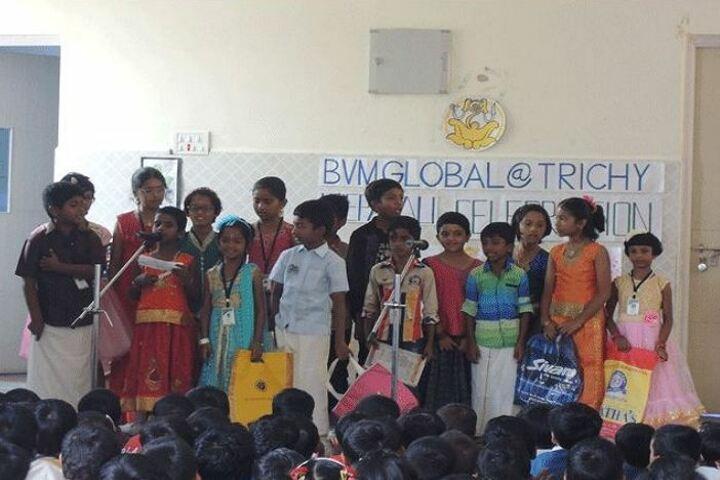 B V M Global Karpagam Campus-Diwali Celebration