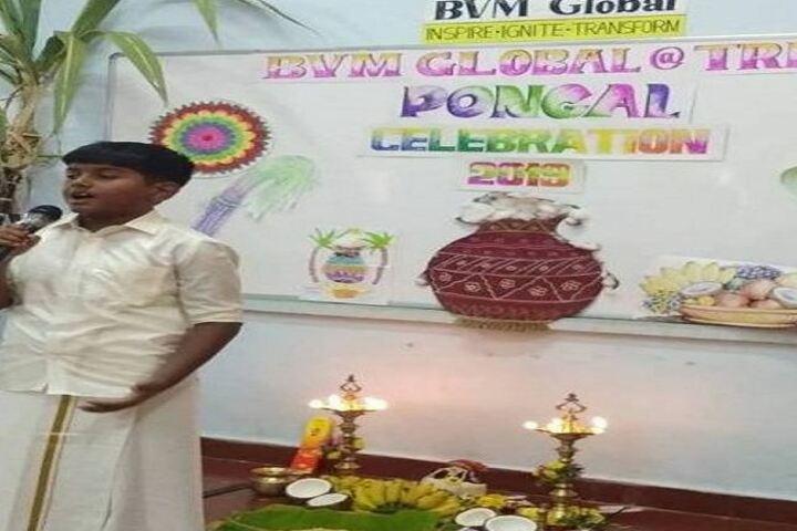 B V M Global Karpagam Campus-Pongal Celebration