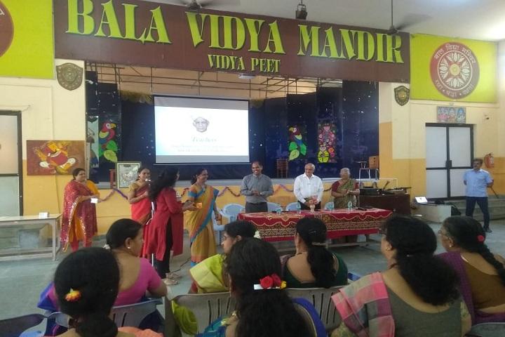 Bala Vidya Mandir Senior Secondary School-Teachers Day