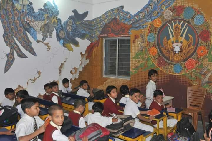 New Holy Ganges Public School-Classroom