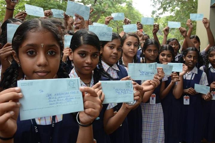 Bhaktavatsalam Vidyashram-Postal Day Celebrations