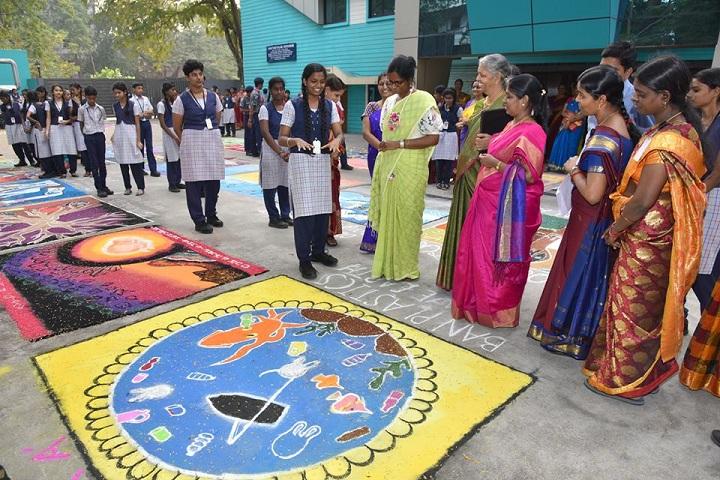 Bhaktavatsalam Vidyashram-Rangoli Competition