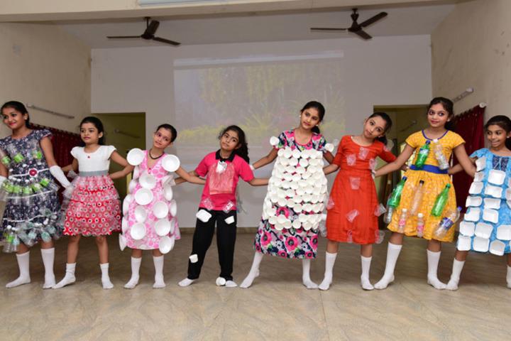 Bhaktavatsalam Vidyashram-Dancing Activity