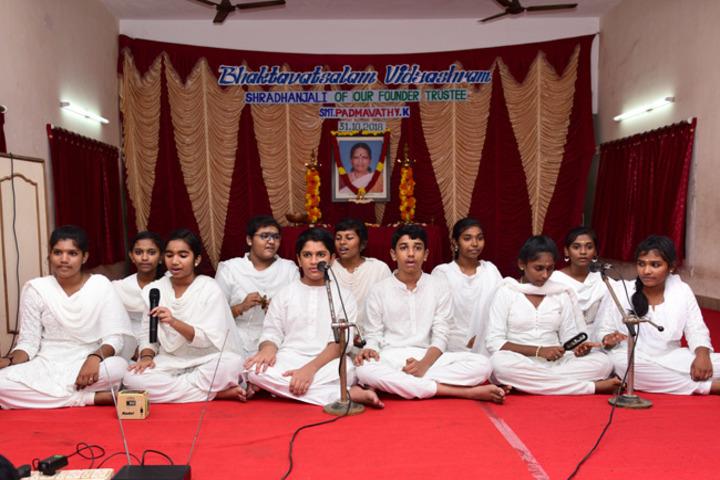 Bhaktavatsalam Vidyashram-Music Activity