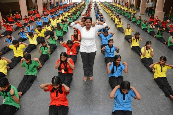 Bhaktavatsalam Vidyashram-Yoga Day