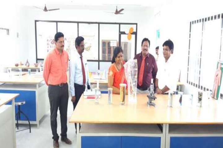 Bharat International School-Biology Lab