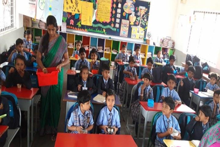 Bharat International School-Classroom Activity
