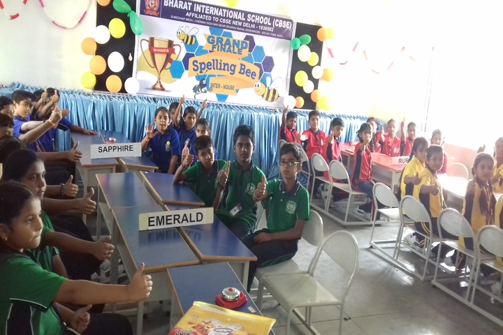 Bharat International School-Spell Bee Competition