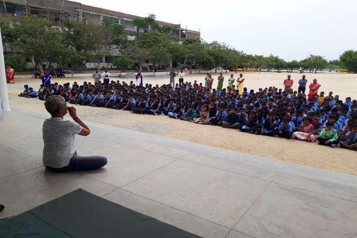 Bharat International School-Yoga Day