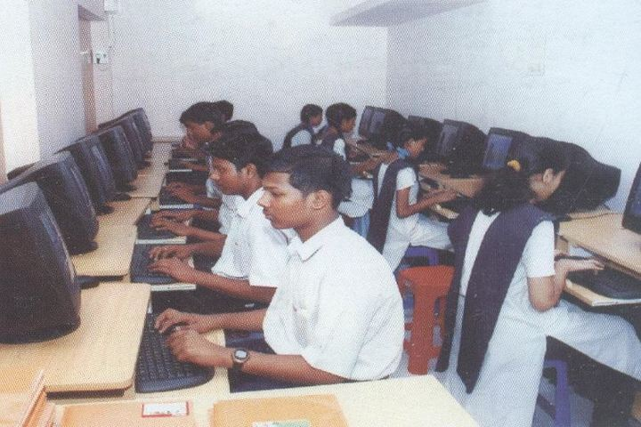 Bharath Senior Secondary School-Computer Lab