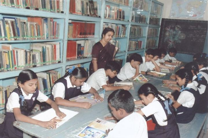Bharath Senior Secondary School-Library