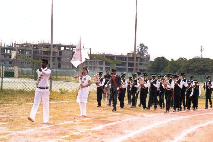 Bharath Senior Secondary School-Sports Meet