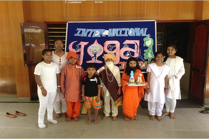 Bharath Vidya Mandir-International Yoga Day