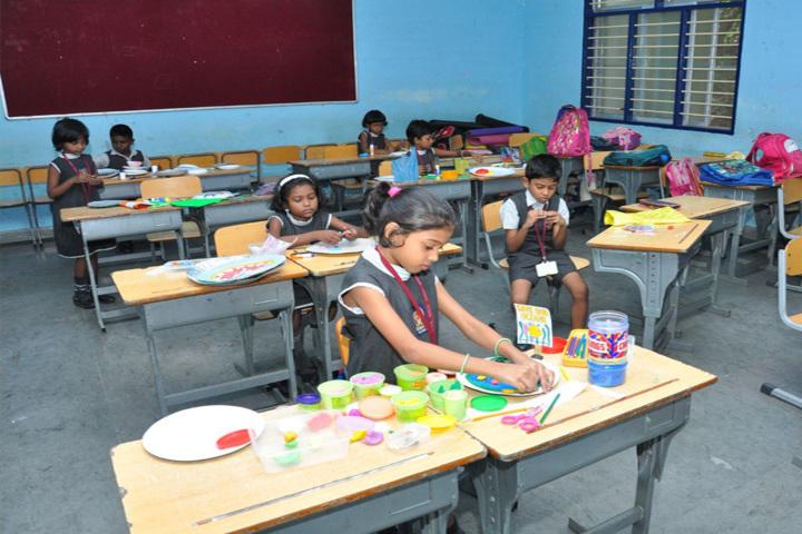 Bharath Vidya Mandir-Classroom