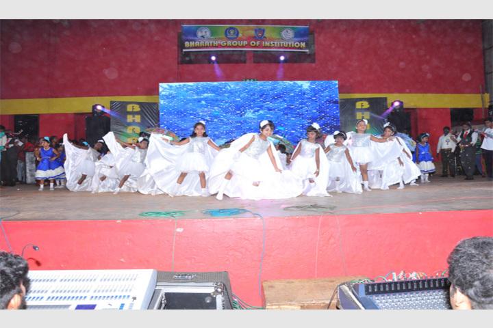 Bharath Vidya Mandir-Dancing Activity