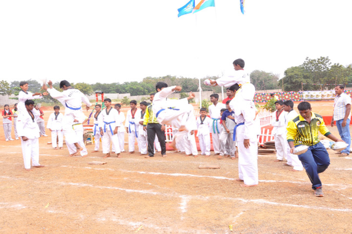 Bharath Vidya Mandir-Karate Activity