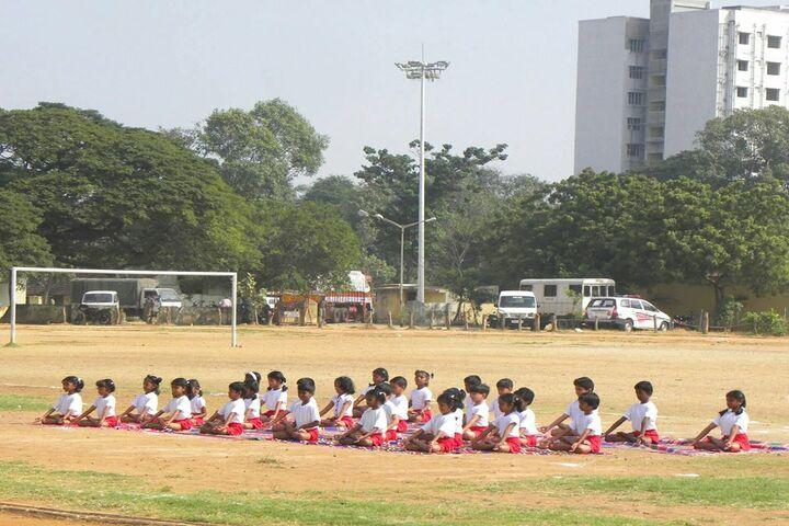Boaz Public School-Yoga Day
