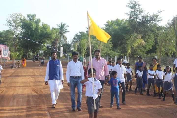 Bodhi International School-Welcoming Cheif Guest