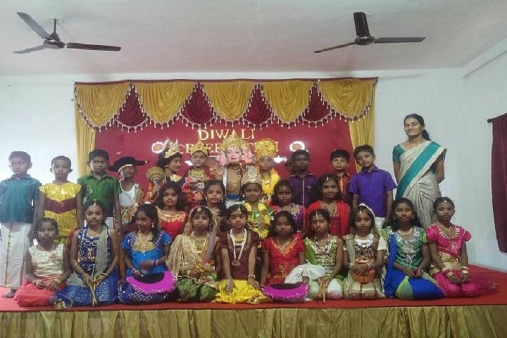 Brindhavan Vidhyalaya Public School-Diwali Celebrations