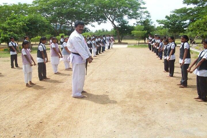 Cambridge Public E-School-Karate Activity