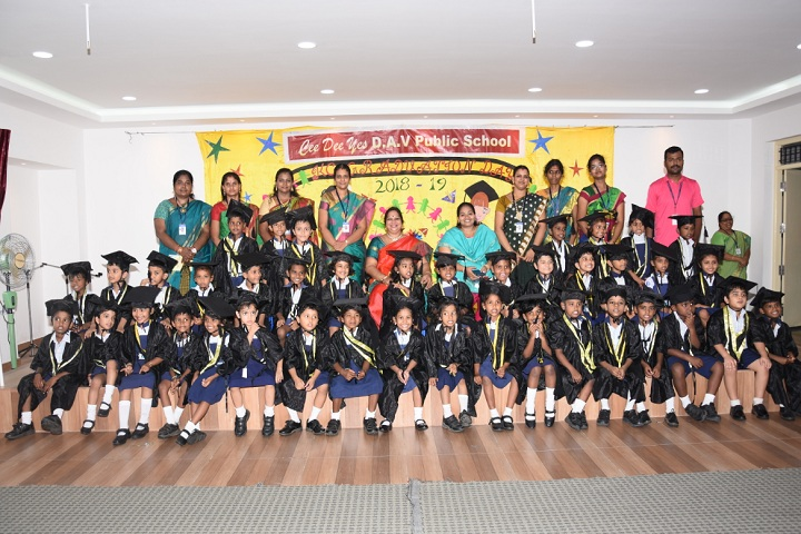 Ceedeeyes DAV Public School-Graduation Day