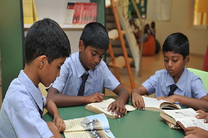 Chandrakanthi Public School - Library