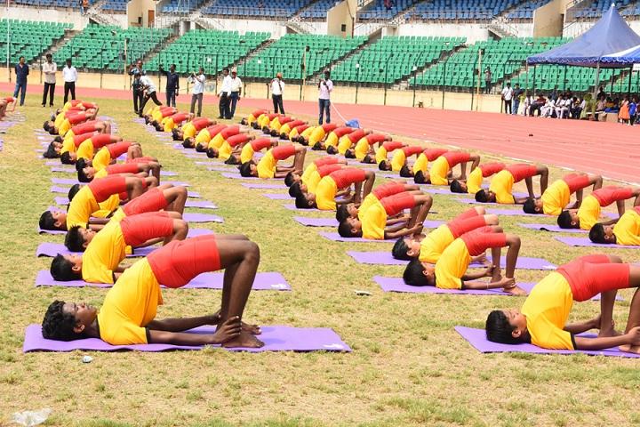 Chettinad Vidyashram-Yoga