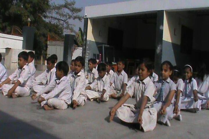 New Samastipur Public School-Yoga day