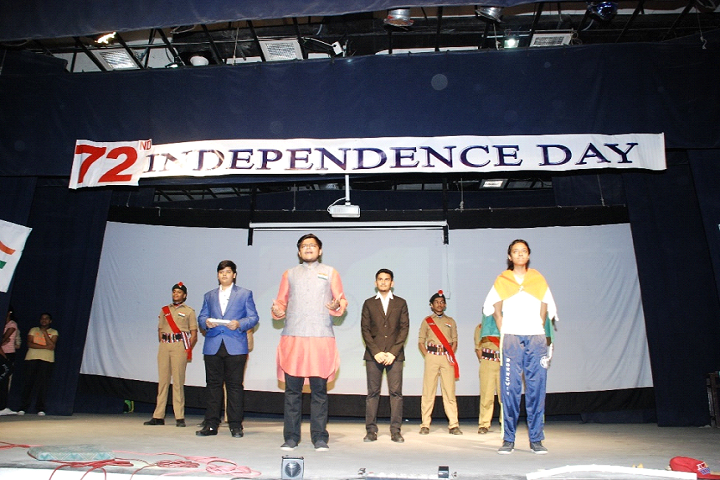 Chinmaya Vidyalaya-Indepedents Day