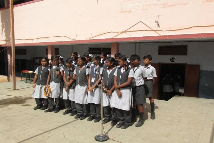 DAV BHEL School-Group Singing