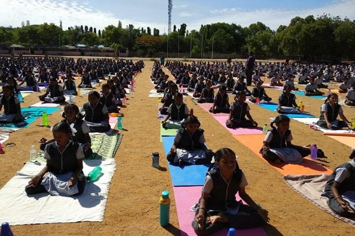 DAV BHEL School-Yoga Day