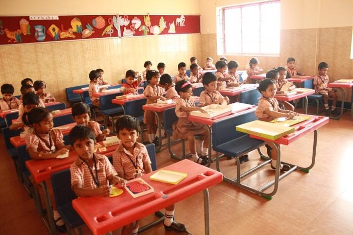 D A V Public School-Activity Room