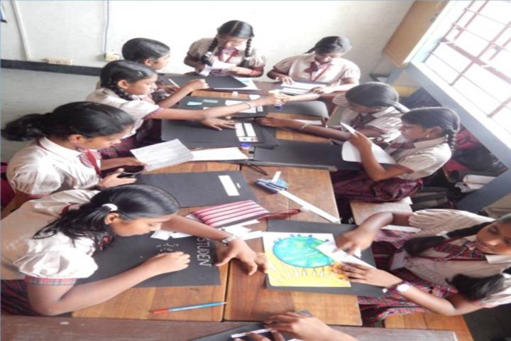 D A V Public School-Art