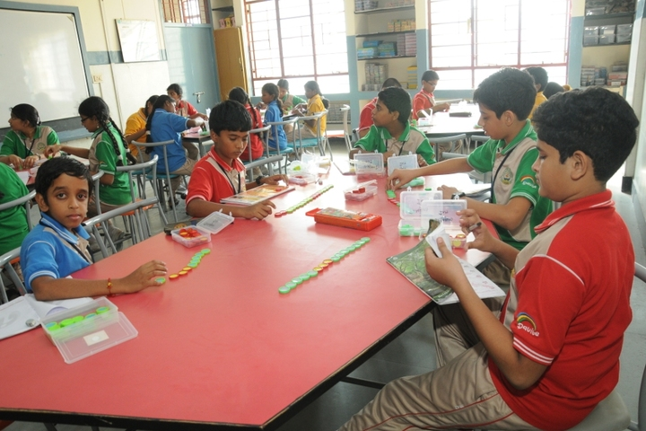 D A V Public School-Maths Lab