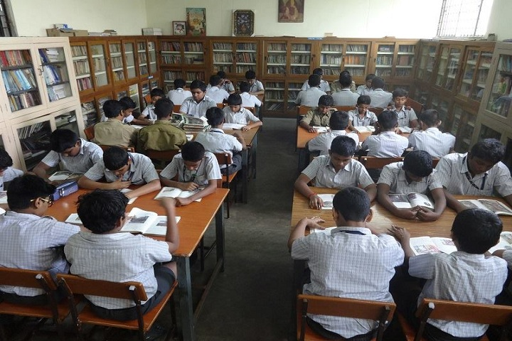 D A V Senior Sec School-Library
