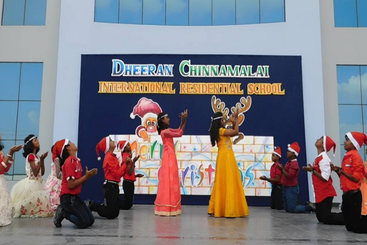 Dheeran Chinnamalai International Residential School-Christmas Event