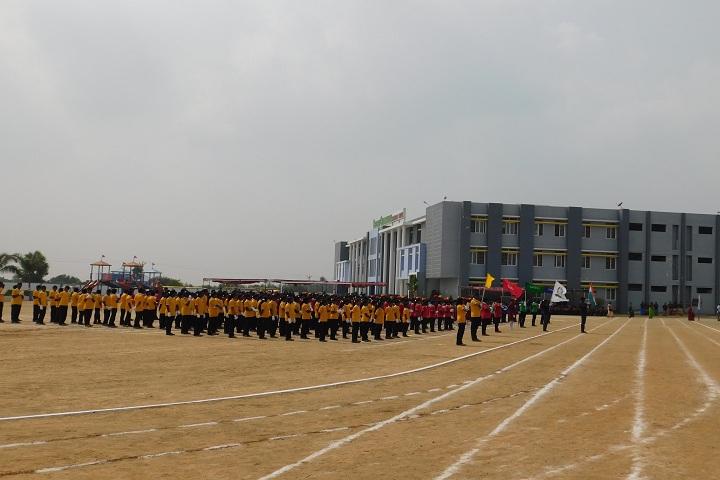 Dheeran Chinnamalai International Residential School-Sports day