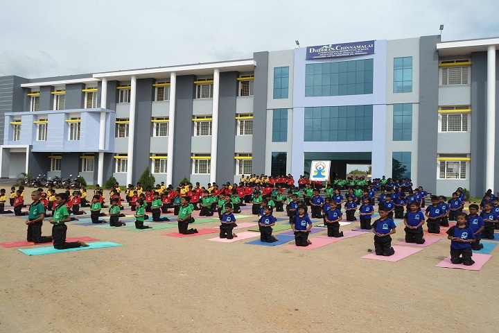 Dheeran Chinnamalai International Residential School-Yoga