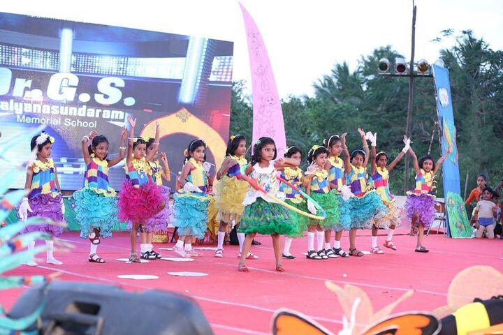 Dr G S Kalyanasundaram Memorial School-Dance