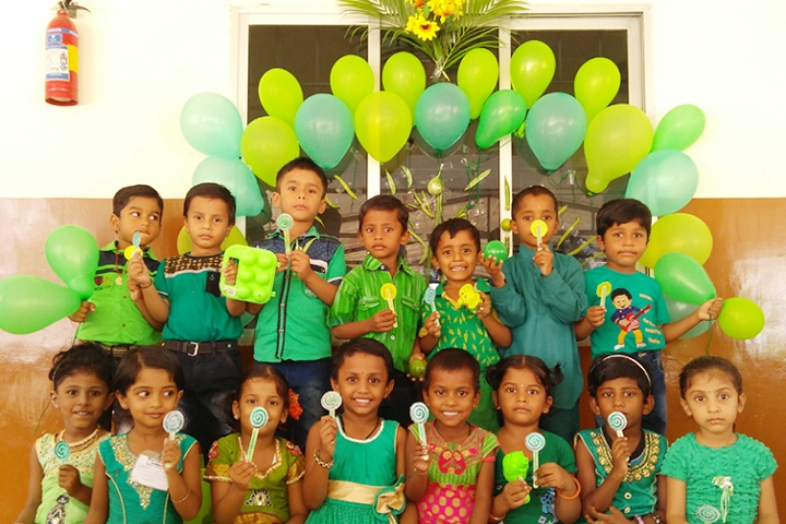 Dr SRK Vidhyalaya-Events green day