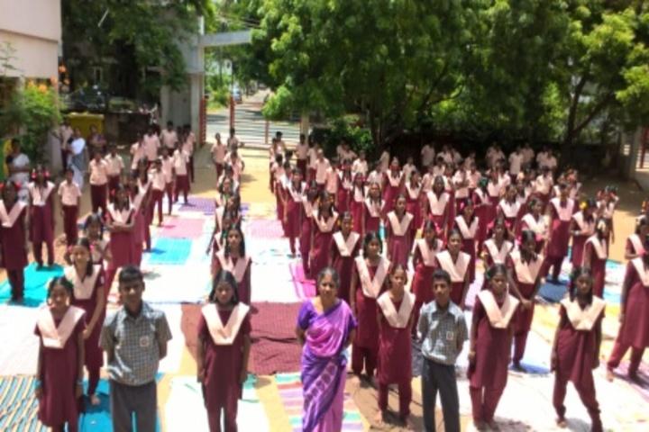 G.K. Shetty Vivekananda Vidyalaya Junior College-Assembly