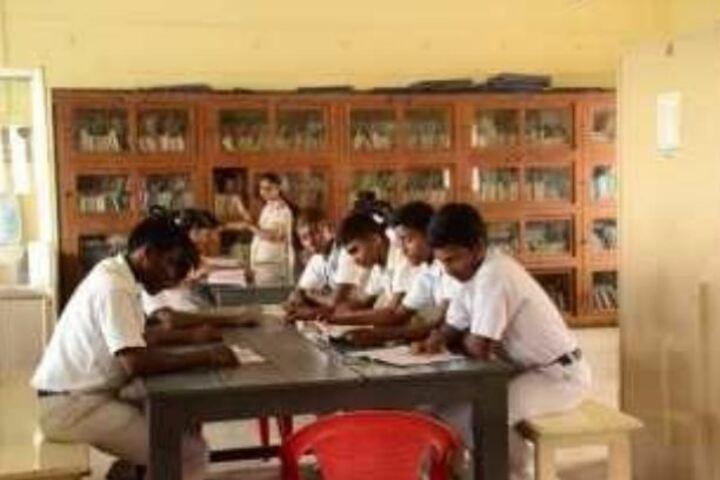 G.K. Shetty Vivekananda Vidyalaya Junior College-Library