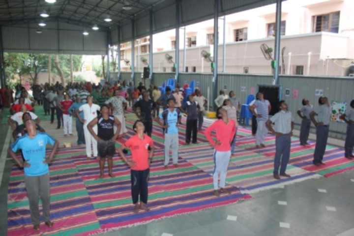 G.K. Shetty Vivekananda Vidyalaya Junior College-Yoga