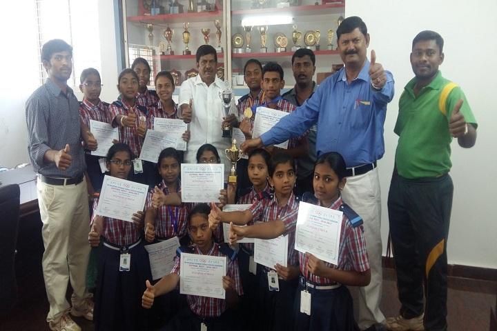 Bheeram Sreedhar Reddy International School-Certification