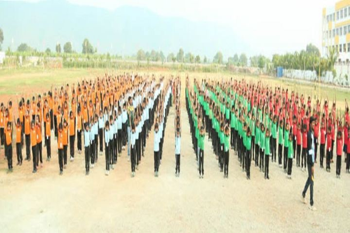Bheeram Sreedhar Reddy International School-Ground