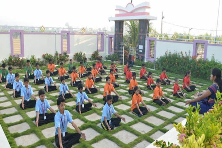 Bheeram Sreedhar Reddy International School-Yoga