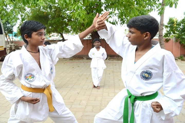 Godson Public School-Karate