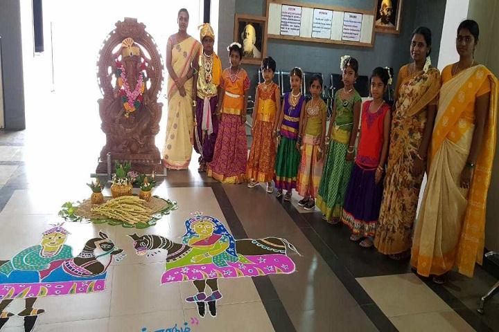 Golden Gates Vidhyashram-Festival Celebration