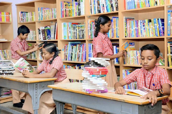Golden Gates Vidhyashram-Library